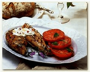 Read more about the article Grilled Indian chicken with mango sauce