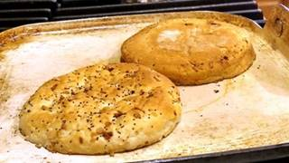 toasted onion rolls for pub burger recipe