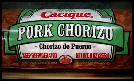 add chorizo sausage for fabulous burgers